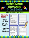 Benchmark Advance Third Grade Spelling Activities Units 1 - 10 (B.A. Companion)