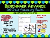 Benchmark Advance Third Grade Vocabulary Puzzles Units 1 - 10 (B.A. Companion)