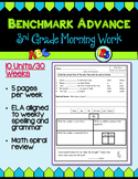Benchmark Advance Third Grade Morning Work (California)