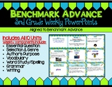 Benchmark Advance Third Grade PowerPoint Companion Units 1 - 10
