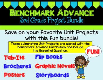 Benchmark Advance Third Grade Project Bundle