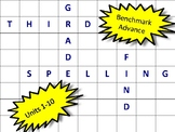 Benchmark Advance Third Grade Spelling Word Find