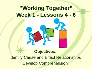 "Benchmark Advance Third Grade ""Unit 1 Week 1 - Lessons 4-6"" - Teaching Supports"