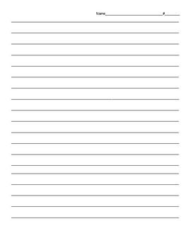Benchmark Advance Third Grade Unit 2 Weekly Write