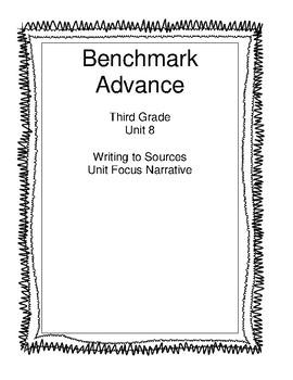 Benchmark Advance Third Grade Unit 8 Unit Write