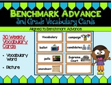Benchmark Advance Third Grade Vocabulary Cards Units 1 - 10 (B.A. Companion)