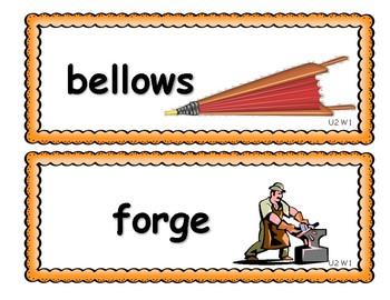 Benchmark Advance Third Grade Vocabulary Cards Units 1 - 10 (National)