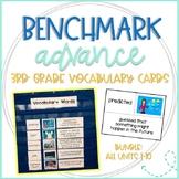 Benchmark Advance Vocabulary Cards 3rd Grade Bundle