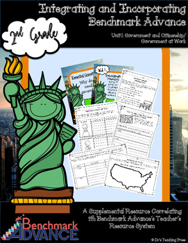 Benchmark Advance-Unit 1: Government at Work (Grade 2) Sup