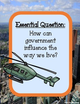 Benchmark Advance-Unit 1: Government in Action (4th Grade)