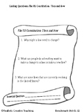 Benchmark Advance Unit 1 Lesson 1 Guiding Questions