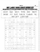 Benchmark Advance Unit 1 Spelling and Vocabulary Word Searches and Answer Keys
