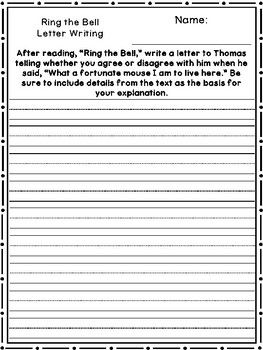 Benchmark Advance Unit 1 Writing Prompts (2nd Grade)