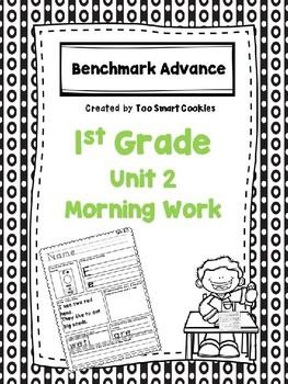 Benchmark Advance Unit 2 First Grade Morning Work