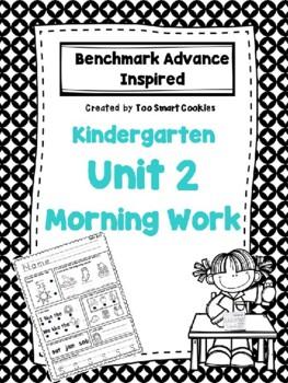 1b. Benchmark Advance Unit 2 Kindergarten Morning Work