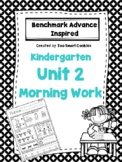 Benchmark Advance Unit 2 Kindergarten Morning Work