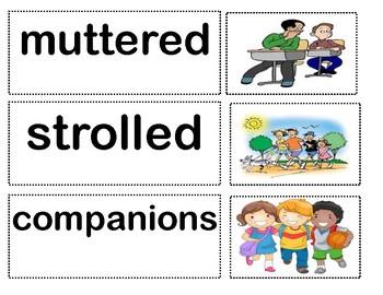 Benchmark Advance Unit 2 Vocabulary Cards