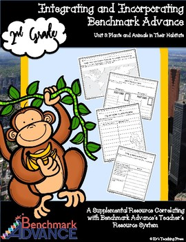 Benchmark Advance-Unit 3; Plants & Animals in Their Habitats (Grade 2) Resources