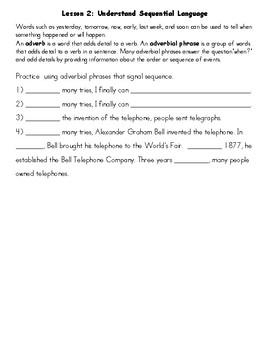 Benchmark Advance 3rd Grade Unit 5 ELD Companion