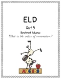 Benchmark Advance Unit 5 ELD Companion
