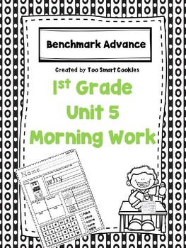 Benchmark Advance Unit 5 First Grade Morning Work