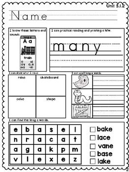 Benchmark Advance Unit 5 First Grade Morning Work