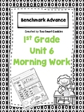 Benchmark Advance Unit 6 First Grade Morning Work
