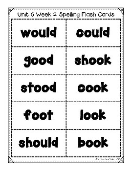 Benchmark Advance Unit 6 Supplemental Spelling Resources 2nd Grade