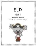 Benchmark Advance Unit 7 ELD Companion