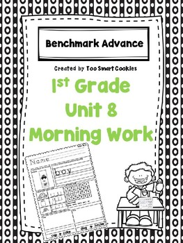 Benchmark Advance Unit 8 First Grade Morning Work