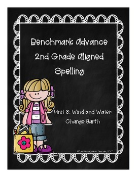 Benchmark Advance Unit 8 Supplemental Spelling Resources 2nd Grade