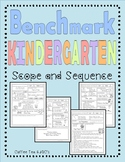 Benchmark Advance Unit Planner Kindergarten