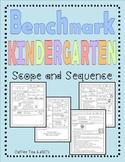 Benchmark Advance Unit Planner Kindergarten