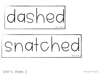 Benchmark Advance Vocabulary Grade 3 Unit 4