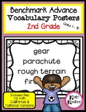 Benchmark Advance Vocabulary Posters 2nd Grade (Ca. and National)