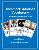 Benchmark Advance Vocabulary Posters Grade 2- Unit 2/ Week 3