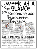 Benchmark Advance - Week at a Glance