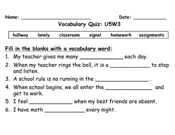 homework for grade 2