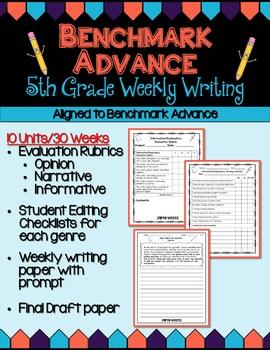 Benchmark advance fifth grade weekly writing units 1 10 ba benchmark advance fifth grade weekly writing units 1 10 bapanion stopboris Gallery