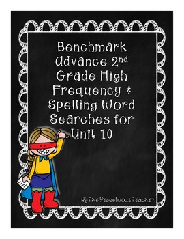 Benchmark Advance Word Search Unit 10