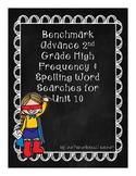 Benchmark Advance Word Search Unit 10