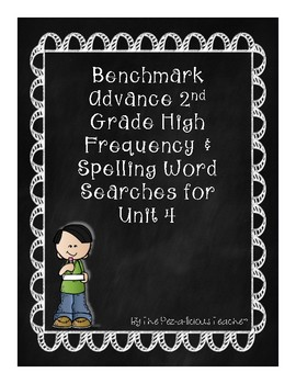 Benchmark Advance Word Search Unit 4