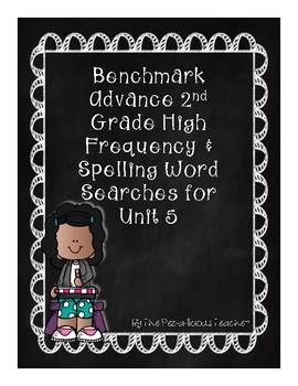 Benchmark Advance Word Search Unit 5