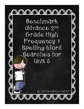Benchmark Advance Word Search Unit 6