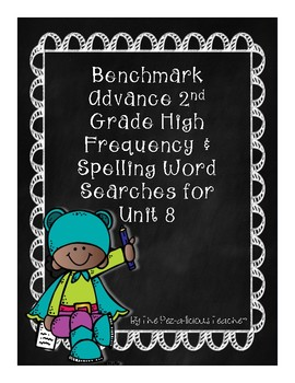 Benchmark Advance Word Search Unit 8