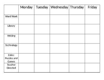 Benchmark Advance Workstations Chart