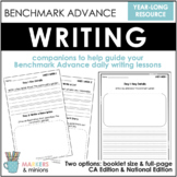 Benchmark Advance Writing Booklet for First Grade (1st Grade)