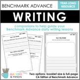 Kindergarten Writing Booklet (CA Benchmark Advance)