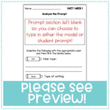 Third Grade (3rd Grade) Writing Booklets (CA Benchmark Advance)