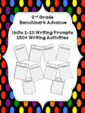 Benchmark Advance Writing Prompts (Units 1-10) BUNDLE (2nd Grade)